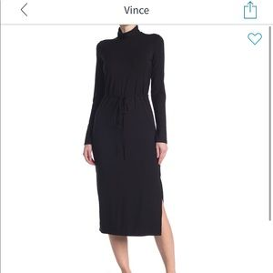 NWT Vince Turtleneck midi dress - Sz M